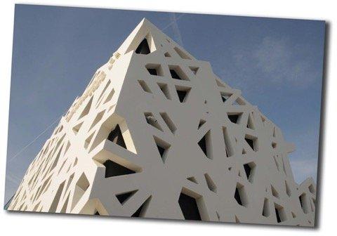 cubierta fachada
