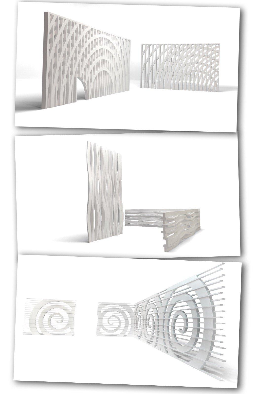 Celosias y manparas en 3DTECH