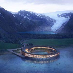 这个令人惊艳的北极酒店,产能大于消耗