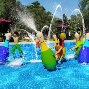 水上保龄球: 一种水上游戏的新方式