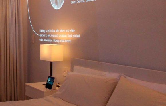 智能房间为客户带来服务新体验