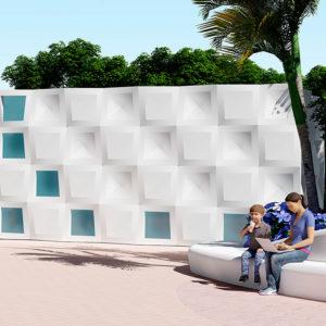 新模块外墙系统:协调节奏和结构的规律