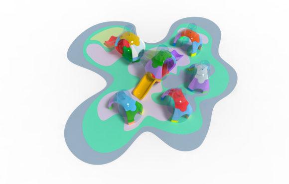 ESpherium:旱地戏水的儿童新游戏