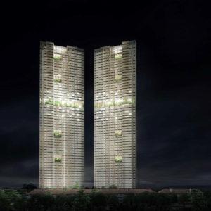 世界上最高的预制塔