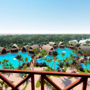 娱乐逻辑公司的建筑项目:孟加拉国大度假区
