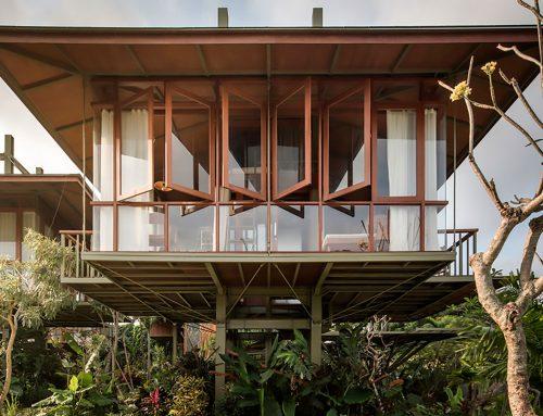 巴厘岛的预制模块式房屋