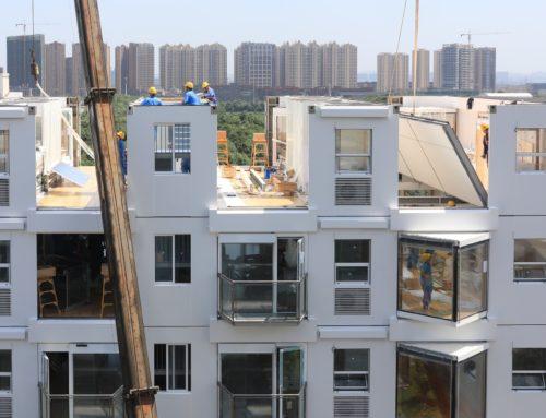 一日可建造十层,动态建筑(+视频)